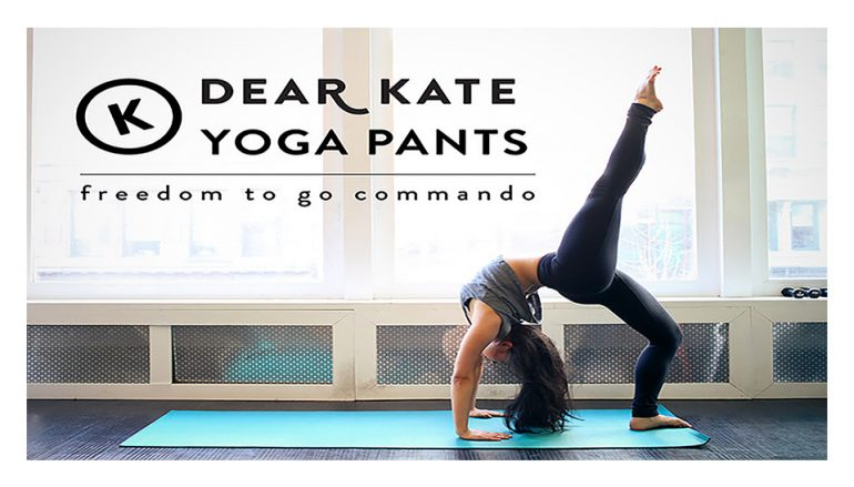 Dear Kate Yoga Pants: Freedom to go Commando