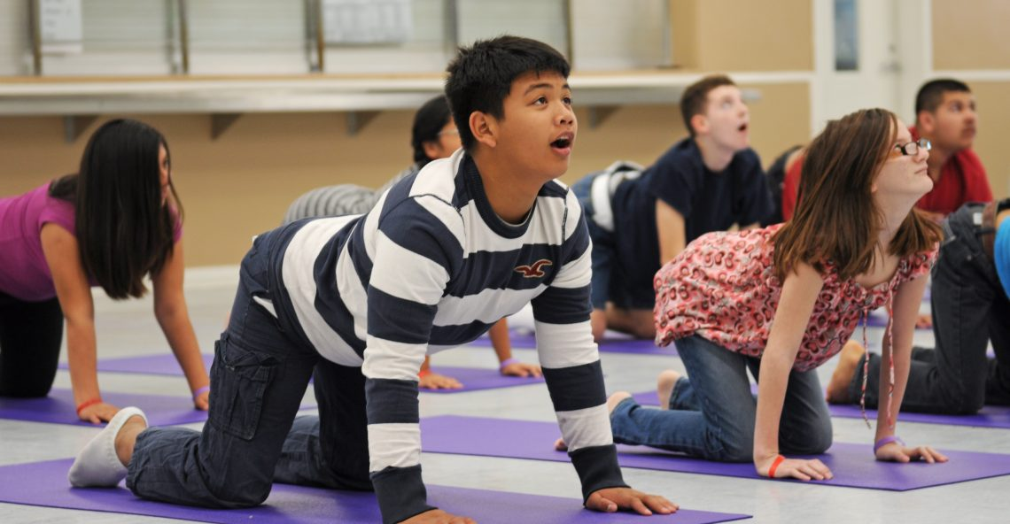 Yoga for Improving Behavior in Children with Autism