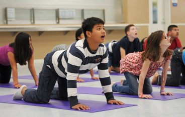 Yoga for Improving Behavior in Children with Autism