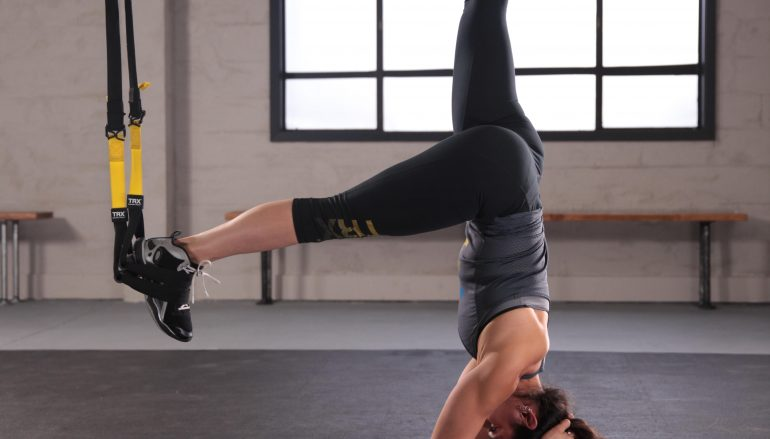 Learning Headstand?  Get Out Of The Box And Into The TRX