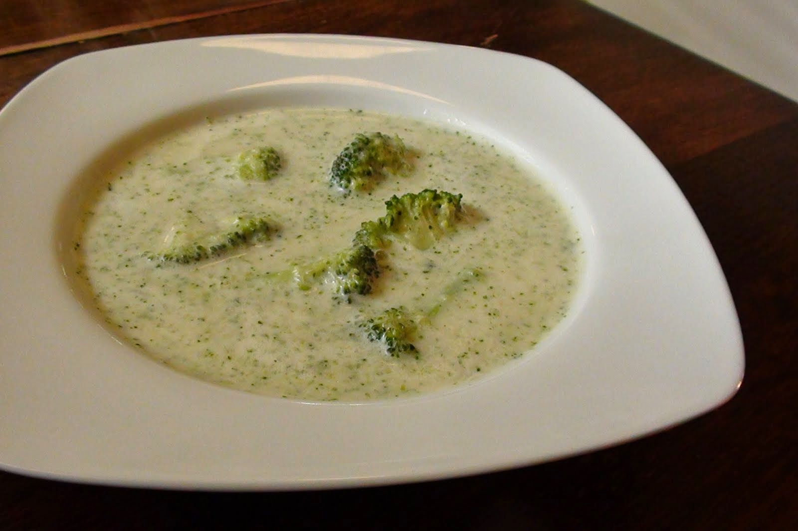 cream of broccoli soup with coconut milk cream of broccoli soup the ...