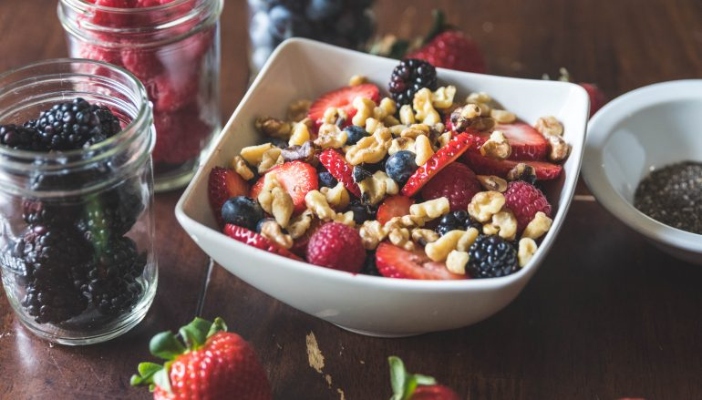 Walnut & Berry Chia Seed Bowl