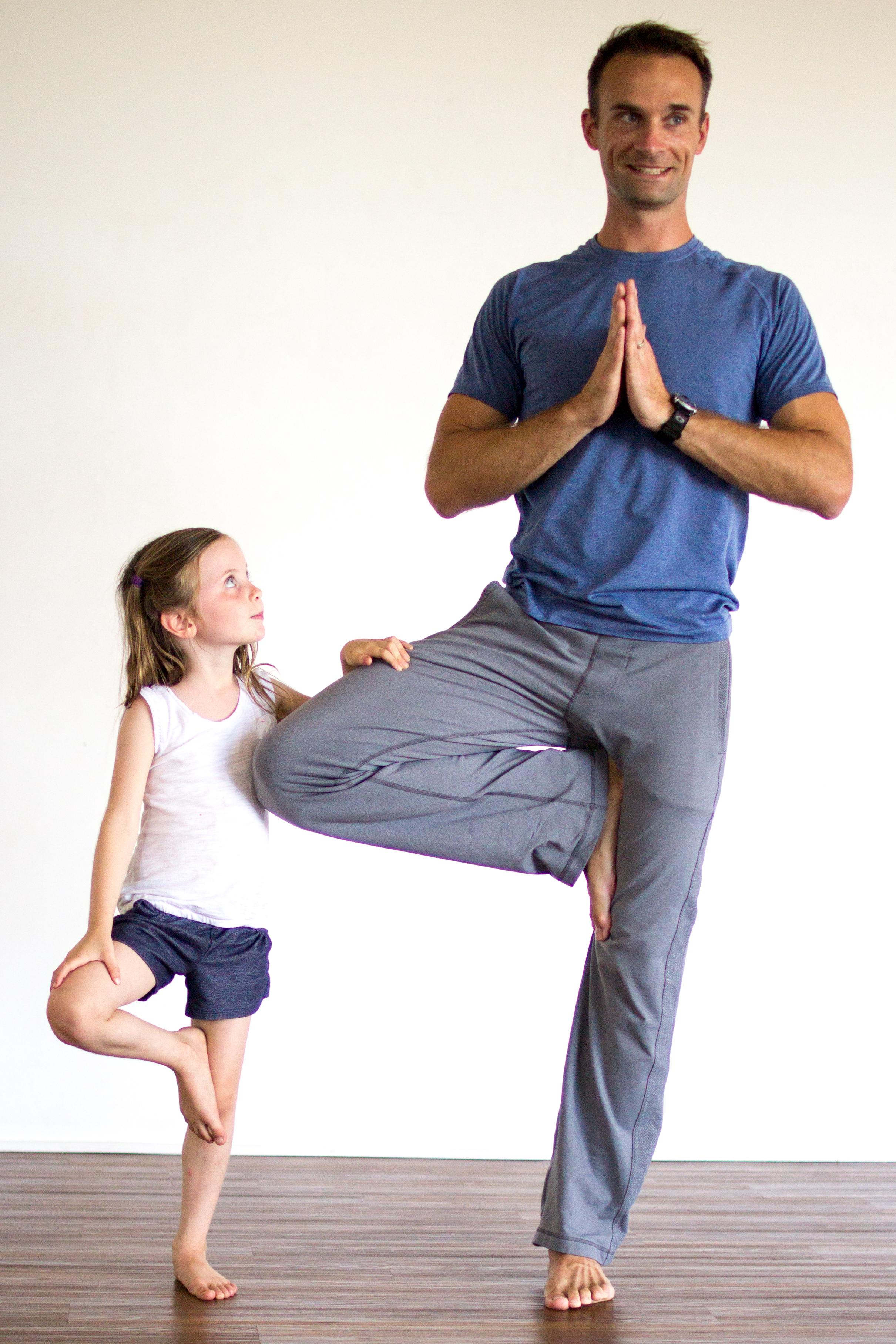 yoga dad