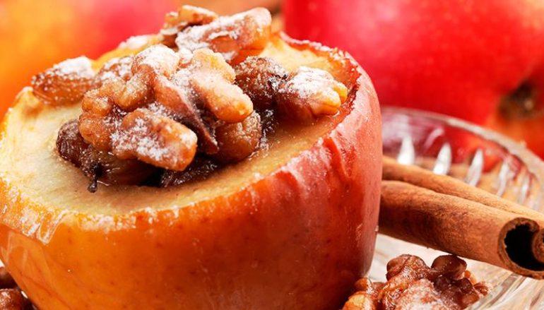 Ginger Cinnamon Baked Apples