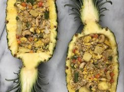 Cauliflower Fried Rice in Pineapple Boats Recipe