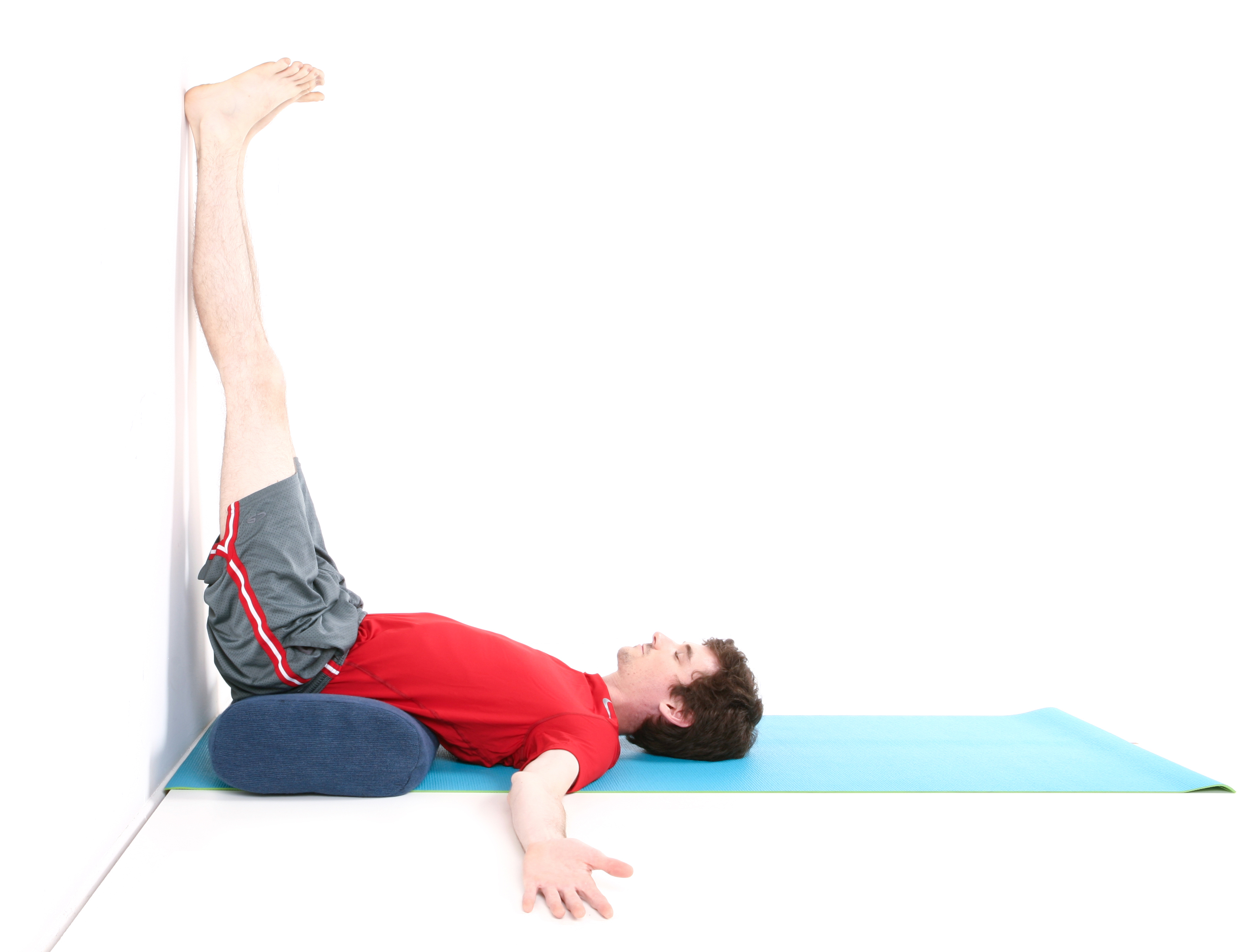 Legs Up The Wall Yoga Exercise