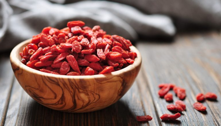 Goji Berries:  Put the Super In Super Food