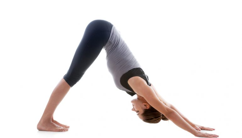 Turn Up the Power in Downward Facing Dog
