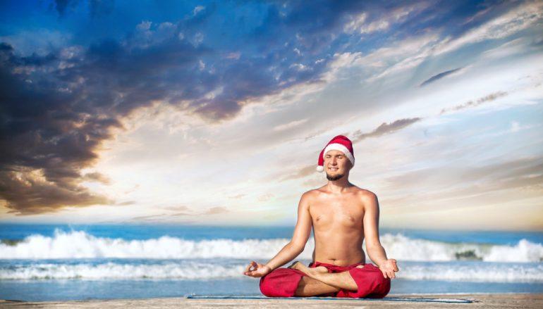 3 Easy Meditation Hacks To Keep You Sane This Season