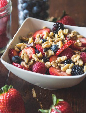 Walnut & Berry Chia Seed Bowl