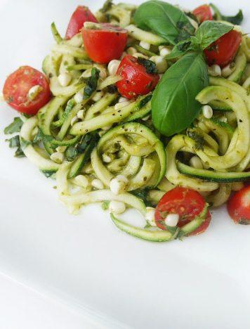 Zucchini Corn Summer Salad