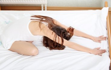 6 Yoga Poses to Do in the Bedroom (It's Not What You Think)