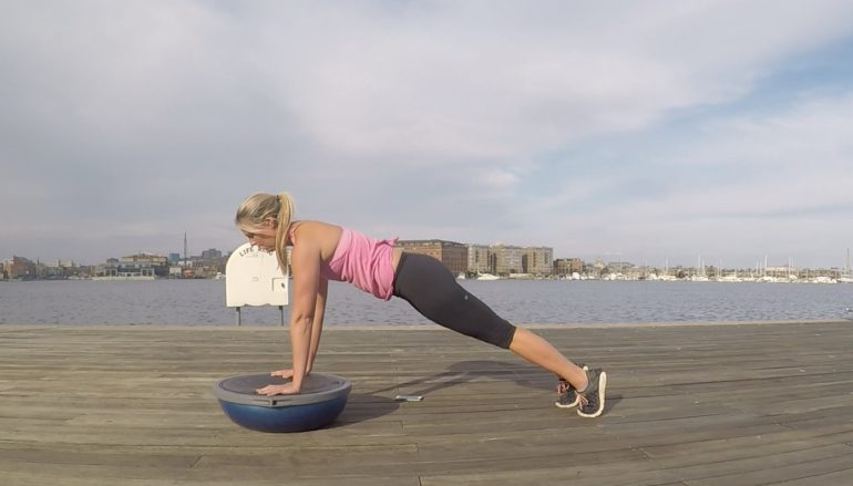 9 BOSU Yoga Poses to Help Prepare you for SUP Yoga Season