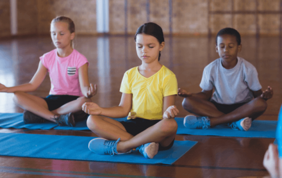 Three Kids Yoga Poses to Help Start Fall on the Right Foot