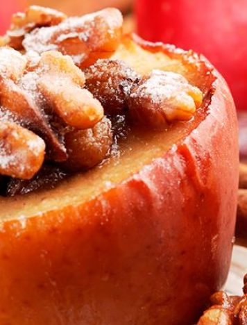 Ginger Cinnamon Baked Apples