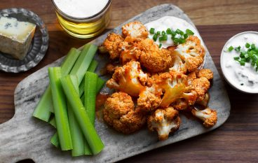 Baked Cauliflower Wings Recipe