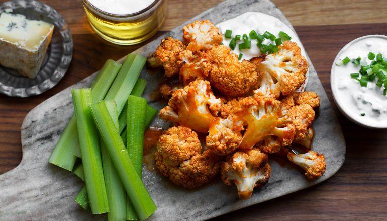 Baked Cauliflower Wings Recipe