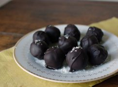 Dark Chocolate Covered Coconut Balls