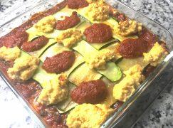 Vegan, Gluten-Free Vegetable Lasagna