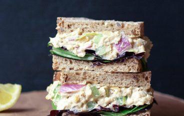 """Chuna  (Chickpea """"Tuna"""") Salad"""