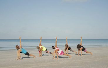 Benefits to a Beach Yoga Practice
