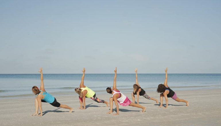 Benefits to a Beach Yoga Practice