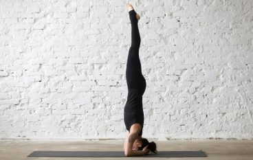 Learn to Headstand: 9 Tips to Practice at Home