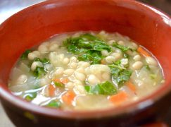 White Bean Vegetable Soup