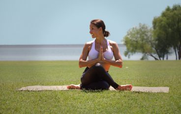 10-Minute Heart-Opening Yoga Practice for Better Posture & Peace of Mind