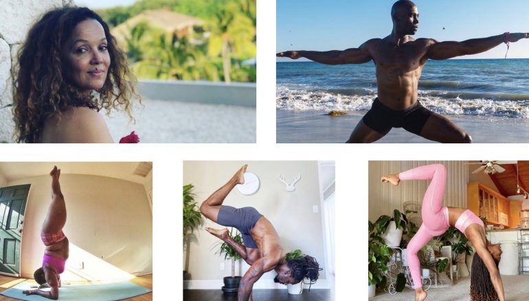 5 Black Yogis You Should Be Following Right Now