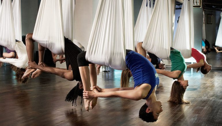 Flip your Perspective w/ Aerial Yoga!